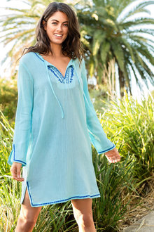 Capture Swimwear Embroidered Cover Up