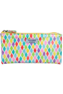 Wicked Sista Small Flat Cosmetic Purse