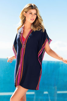 Capture Swimwear Embroidered Kaftan