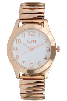 Capri Ladies Metal Watch