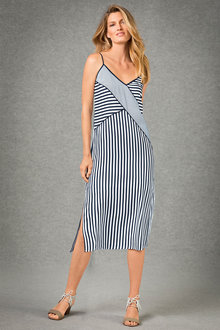 Grace Hill Spliced Slip Dress