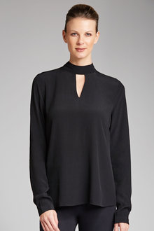 Capture Cutout Neck Top - 182674