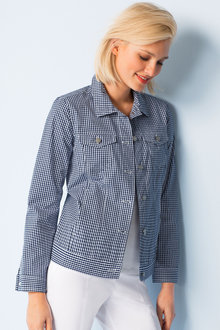 Capture Gingham Jacket