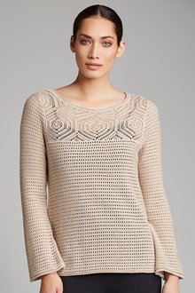 Capture Pointelle Knit