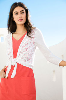 Capture Pointelle Cardigan