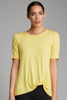 Capture Knot Front Tee