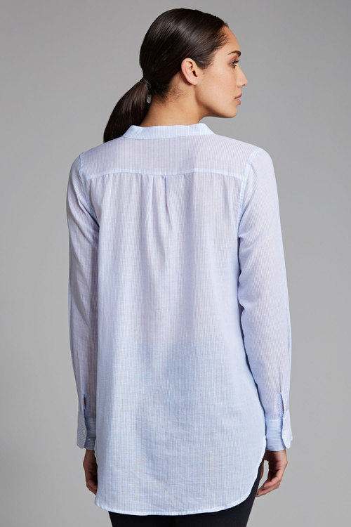 Capture Longline Embroidered Shirt