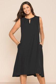 Plus Size - Sara Little Black Dress