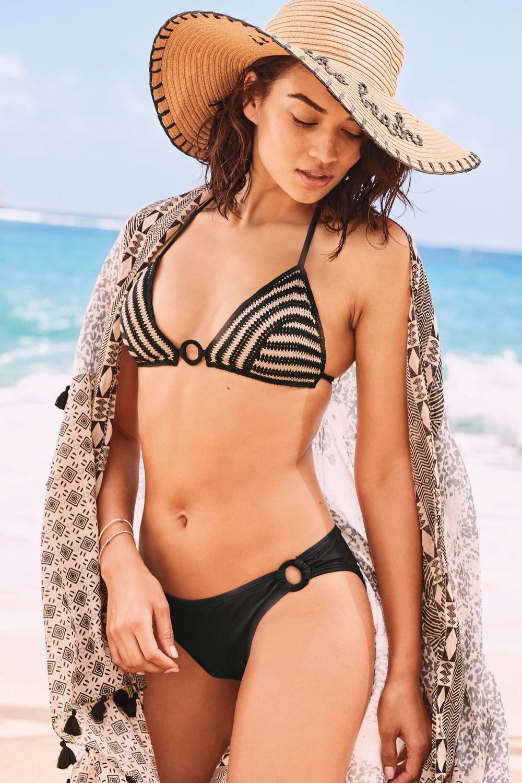 9f23d8d03fab4 Next Crochet Triangle Bikini Top Online