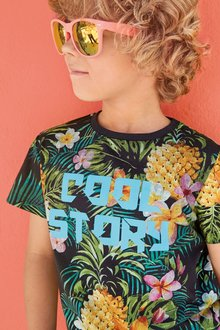 Next Floral Cool Story T-Shirt (3-16yrs)