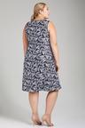 Plus Size - Sara Linen Swing Dress