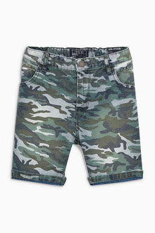 Next Camo Shorts (3-16yrs)