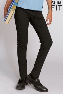 Next Skinny Stretch Trousers (3-16yrs) Slim Fit
