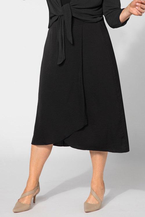Plus Size - Sara Wrap Skirt