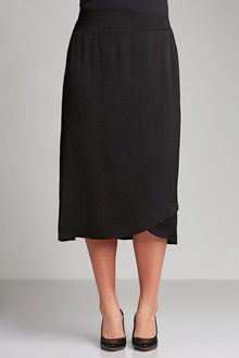 Plus Size - Sara Wrap Skirt