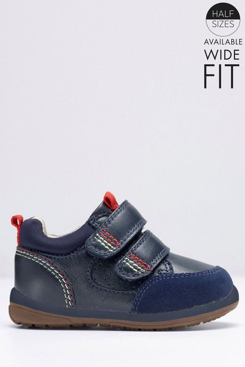 Next First Walker Trainers (Younger Boys) Wide Fit