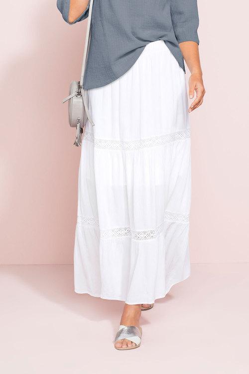 Capture Tiered Crinkle Skirt