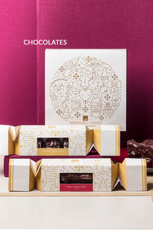 Seriously Good Deluxe Christmas Chocolates 16 Piece Box
