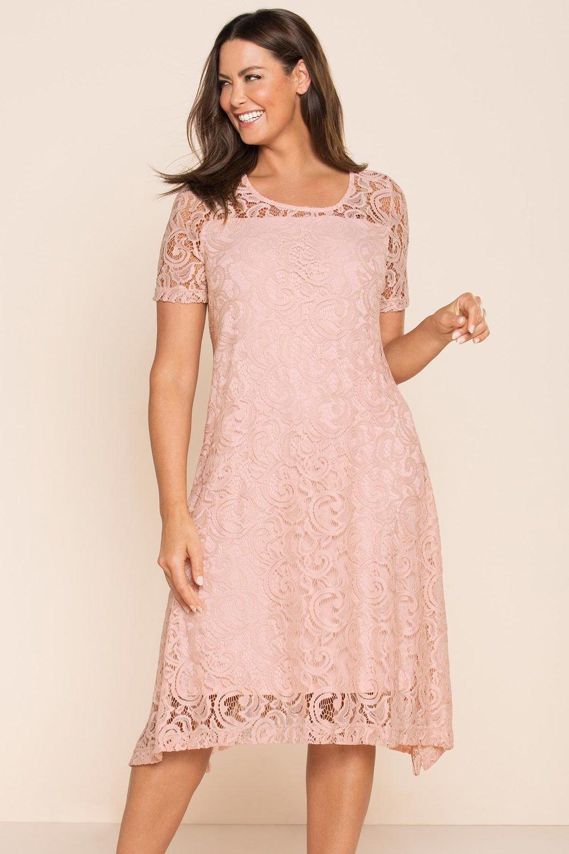 0dbb0e1fcf9 Plus Size - Sara Stretch Lace Dress