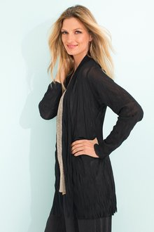 Capture Crushed Tulle Cardigan