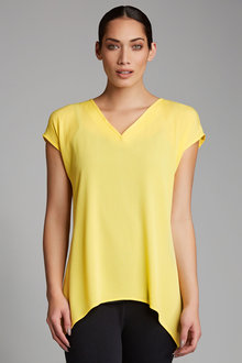 Capture V Neck Swing Top - 183319