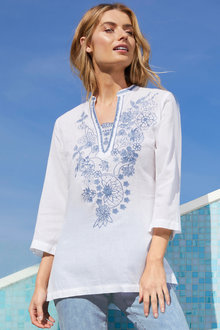 Capture Embroidered Tunic - 183373