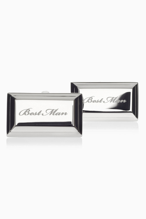 Next Best Man Wedding Cufflinks