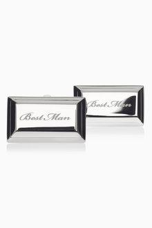 Next Best Man Wedding Cufflinks - 183577