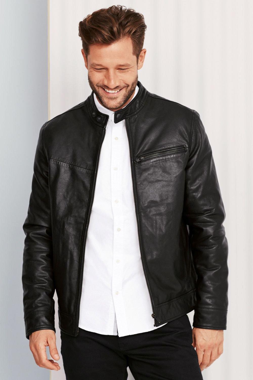 12d102ce3 Next Leather Racer Jacket Online   Shop EziBuy