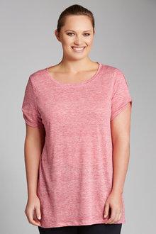 Plus Size - Sara Linen Tunic