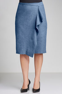 Plus Size - Sara Ruffle Skirt