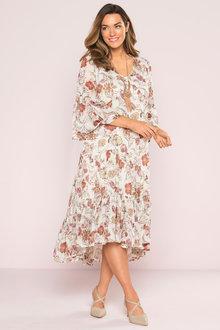 Plus Size - Sara Boho Dress