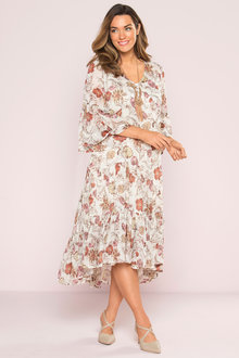 Plus Size - Sara Boho Dress