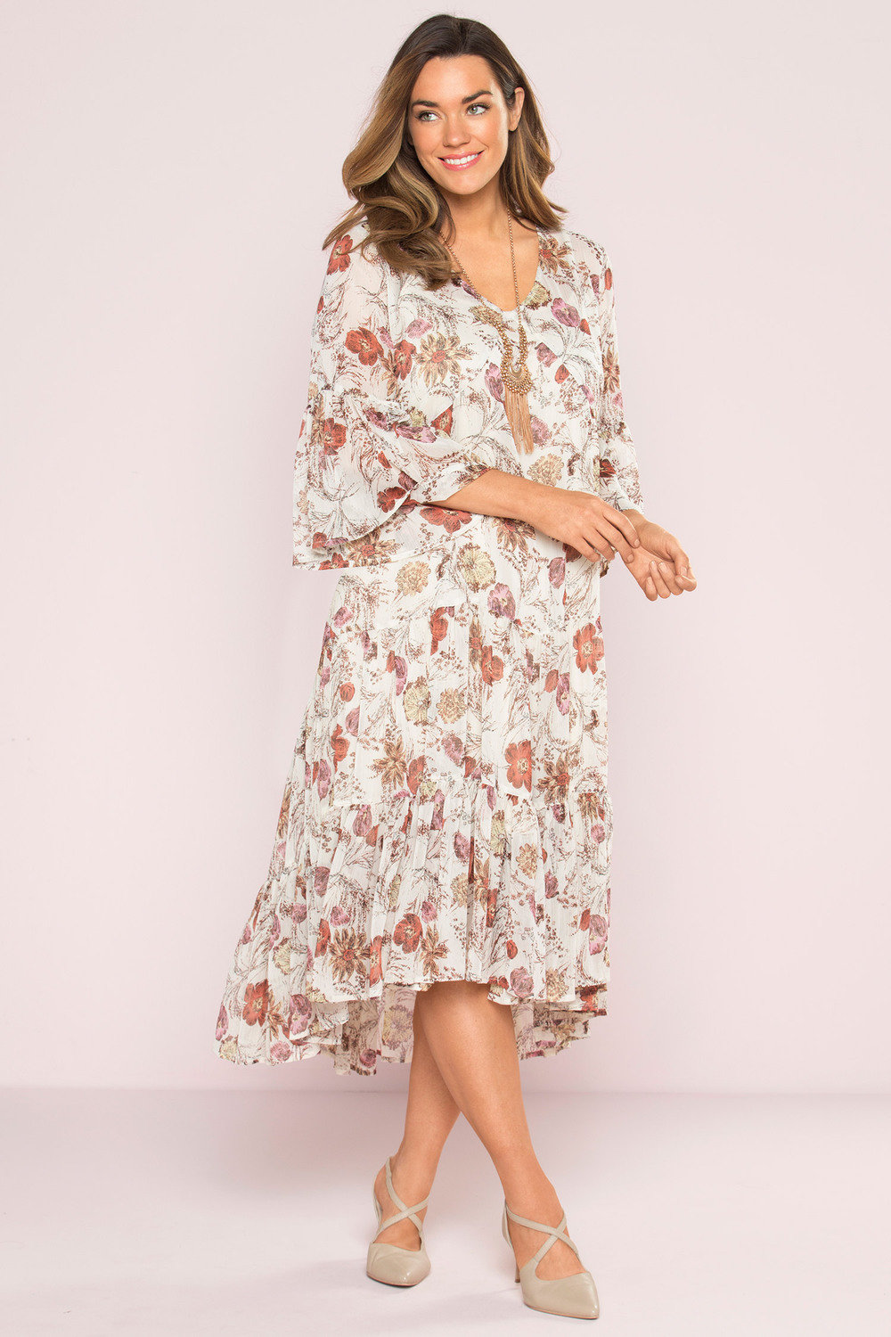 0f3b7665727 Plus Size - Sara Boho Dress