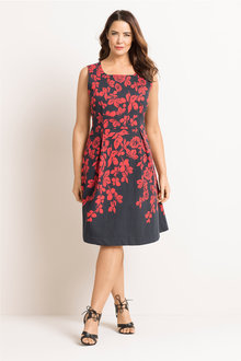 Plus Size - Sara Tea Dress