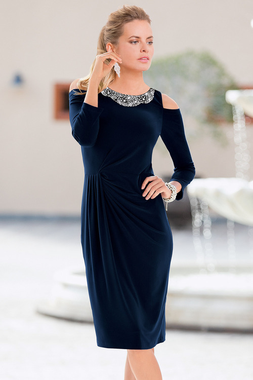 Together Neckline Dress
