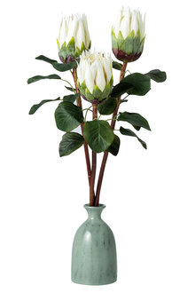 Stoneleigh and Roberson Faux Protea Set of 3