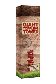 Great Garden Games Co Giant Toppling Tower