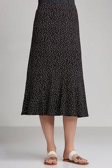 Capture Print Skirt