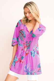 Capture Cotton Print Tunic