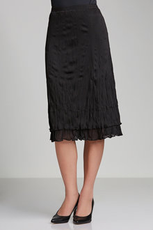 Capture Crushed Tulle Skirt