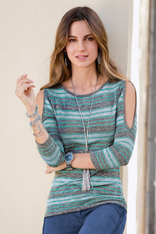 Together Stripe Top