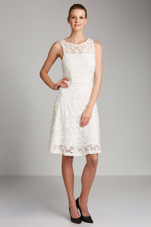 Capture Fit & Flare Lace Dress