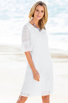 Grace Hill Broidery Dress