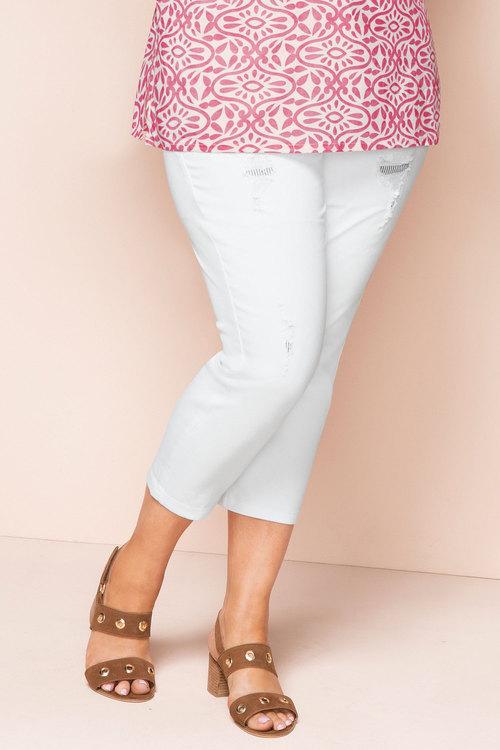 Plus Size - Sara Patch Detail Jean