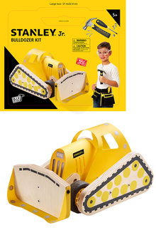 Stanley Jr DIY Bulldozer