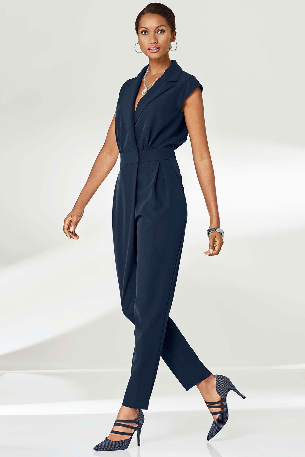 049034b2944080 Euro Edit Wrap Front Jumpsuit Online