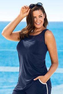 Plus Size - Quayside Woman Mesh Tankini
