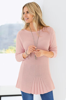 Together Cable Knit Tunic
