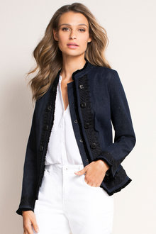 Capture Embellished Denim Jacket